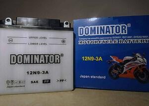 Dominator 12N9-3A 12V 9Ah R+