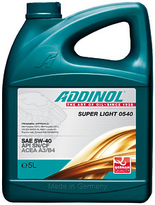 Addinol Super Light 0540 5W-40