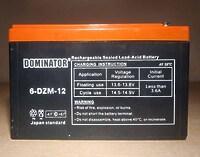 Dominator 6-DZM-12 12V 12Ah L+