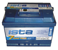 Ista 7 series 60Ah h=175mm L+