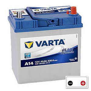 Varta Blue Dynamic 40Ah (A14) R+