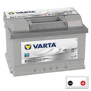 Varta Silver Dynamic 61Ah (D21) h=175mm R+