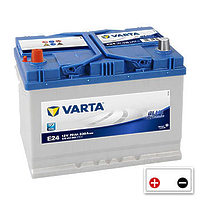 Varta Blue Dynamic 70Ah (E24) L+