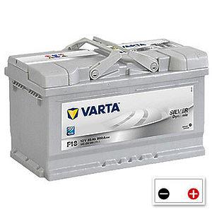 Varta Silver Dynamic 85Ah (F18) h=175mm R+
