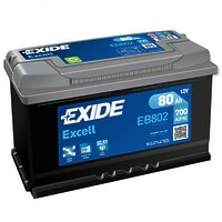 Exide Excell 80 R+