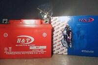 H&T GTX4L-BS 12V 4Ah R+
