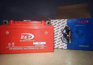 H&T GTX7A-BS 12V 7Ah L+