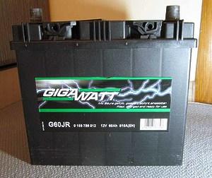 GigaWatt 60Ah R+