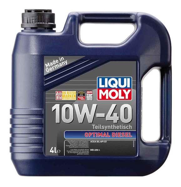 liqui moly optimal diesel 10w 40 a3 b4 oil ok. Black Bedroom Furniture Sets. Home Design Ideas
