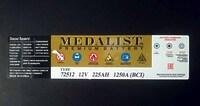 Medalist 72512 225Ah