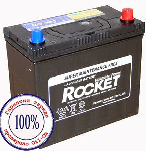 Rocket SMF NX100-S6LS 45Ah R+
