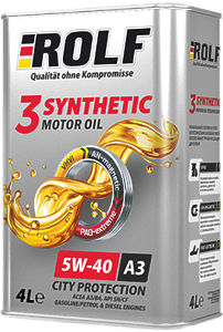 ROLF 3-SYNTHETIC 5W-40 ACEA A3/B4