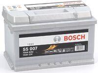 Bosch S5 74Ah h=175mm R+