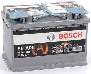 Bosch AGM 70Ah R+
