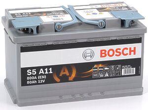 Bosch AGM 80Ah R+
