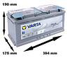Varta AGM 105Ah (H15) R+