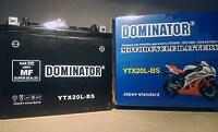 Dominator YTX20L-BS 12V 20Ah R+