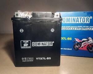 Dominator YTX7L-BS 12V 7Ah R+