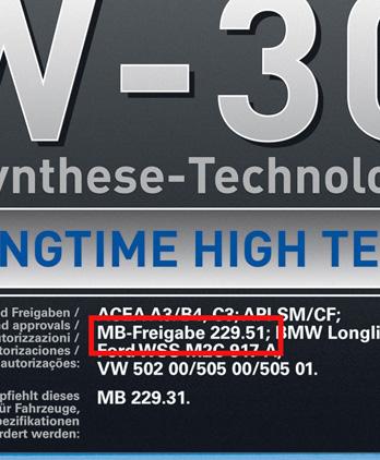 допуски моторных масел для двигателя мерседес 642.920
