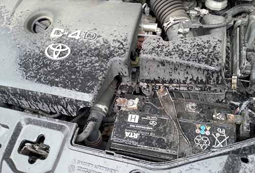 Штатный аккумулятор на Toyota Avensis дизель